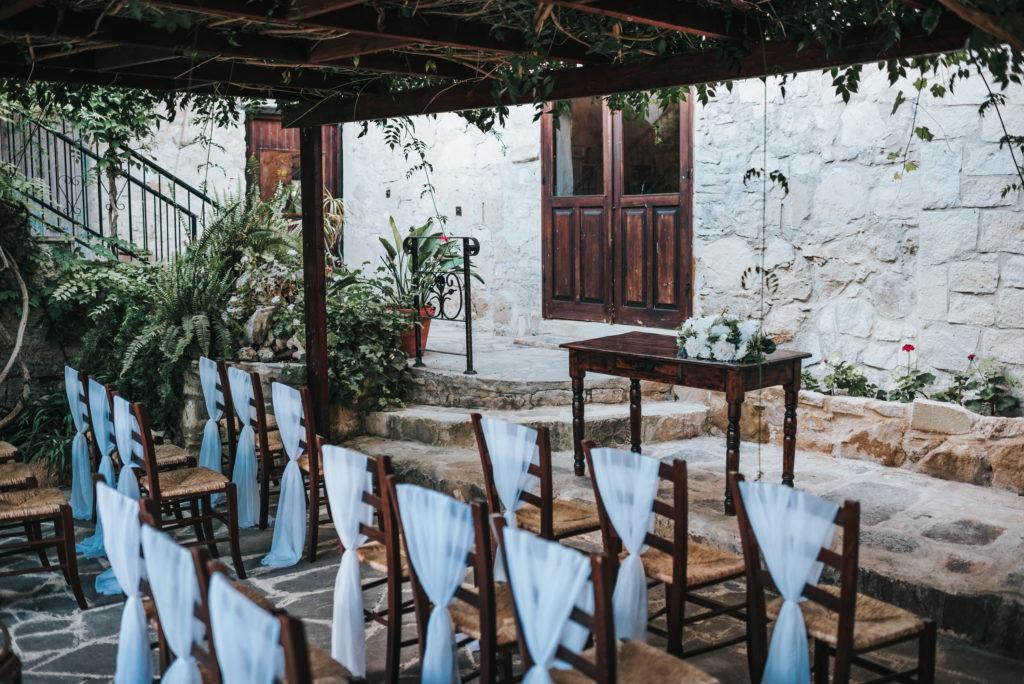 Civil ceremony in Cyprus - weddings in Paphos-Private ceremony location in Paphos - Cyprus venues - Vasilias nikoklis